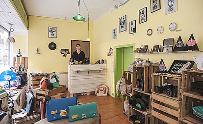 up!sala: Der Upcycling-Laden voller Ideen